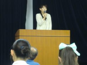 「埼玉県の皆さんに、まず感謝します」と鵜沼さん。