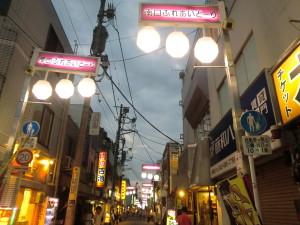 清瀬の商店街